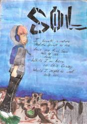 on the edge , where my music speak the loudest by Axel-zel-Uzi