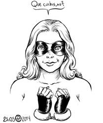 Superheroina by phallusdei