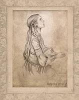 Sansas Prayer by Veronika-Art