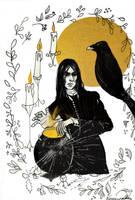Snape Inktober 12: Shattered by Veronika-Art