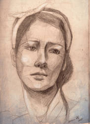 Study in Sepia by Veronika-Art