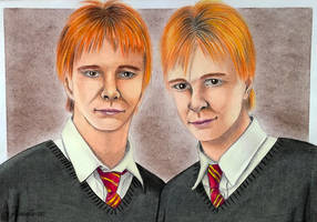 Fred and George by Jaenelle-20
