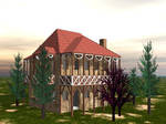 Indiana House Front View by LordFreeza