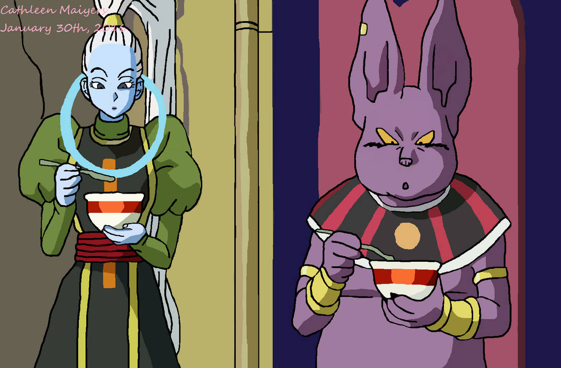 champa and vados eating drawing by catcamellia on deviantart