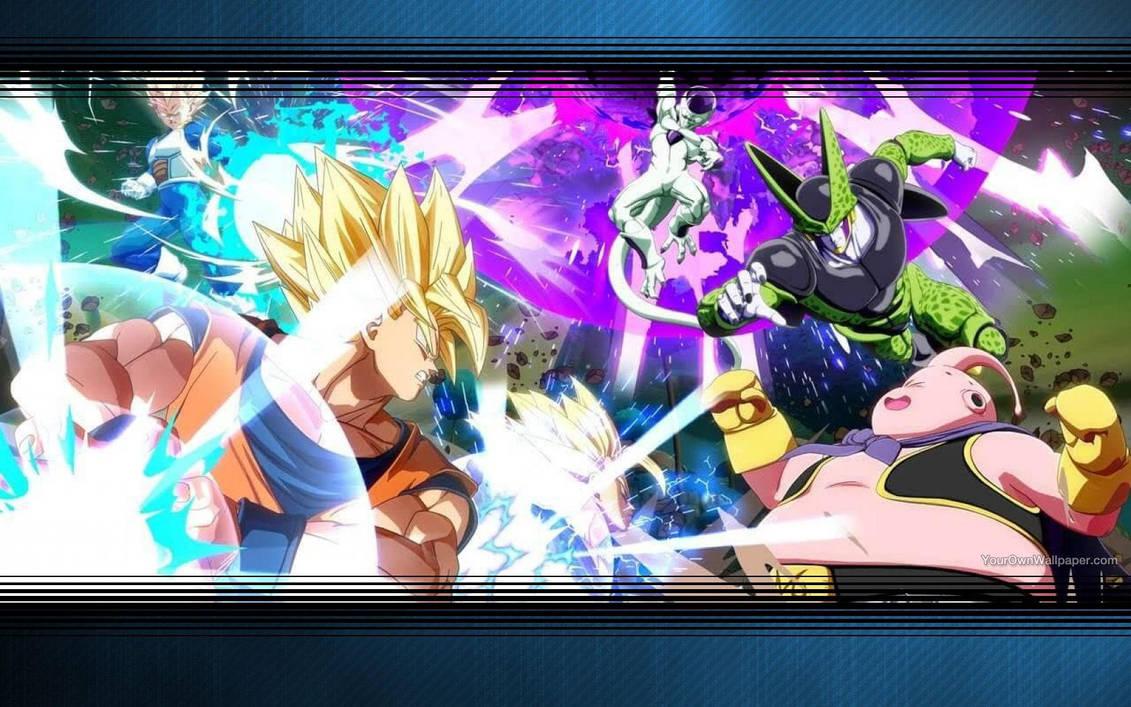 Dragon Ball Fighterz Wallpaper By Catcamellia On Deviantart