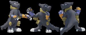 Demoth 3D Model by Clawed-Nyasu