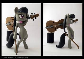 Octavia 3D-Printed Figure by Clawed-Nyasu