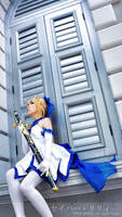 Saber Lily - Type Moon 10 Anniversary Ver by Ototsuki