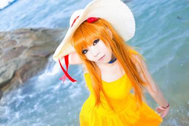 Asuka at Sunny Beach by Ototsuki