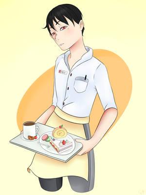 Waiter Kei~ by cornelia892