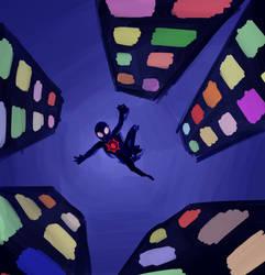 Leap of faith - doodle by cornelia892