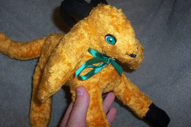 Plushie - Yellow Catgoat by Arpha