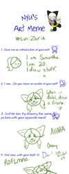 Nyu's Art Meme by Arpha