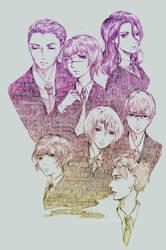 daily sketches 05-katsushika by levocka