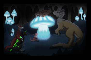 Expedition Shroom Cave by NeochmiaPhaeton