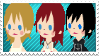 NamiKaiXi Stamp by HeartlessKairi