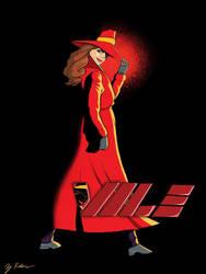 Carmen Sandiego by its-just-zachary1