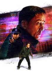 Jackie Chan Police Story Movie Poster by OCMay