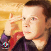 Eleven - Stranger Things by RusoTsig