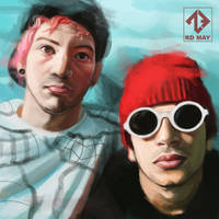 Twenty one pilots - Speed Painting (Photoshop) by RusoTsig