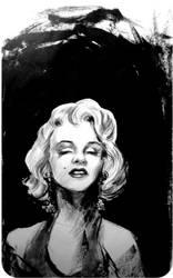 Marilyn Monroe by uykusuzpijama