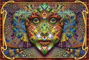 Deep Dream Mask by marijeberting