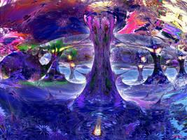 Psychedelic Wonderland by marijeberting