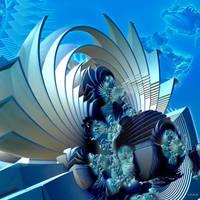 Underwater turmoil by marijeberting