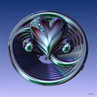 Yin Yang Heart by marijeberting
