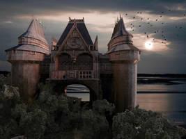 Castle on the water by marijeberting