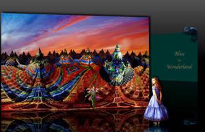 Alice in Wonderland by marijeberting