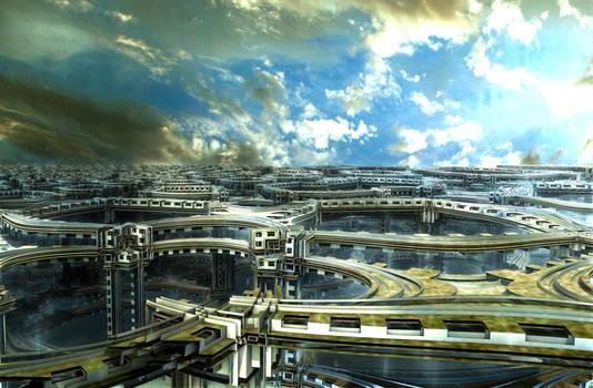 For Doriano:Infrastructure of the Bangkok Skytrain by marijeberting