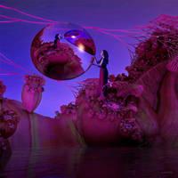 Worship of the reflecting sphere by marijeberting