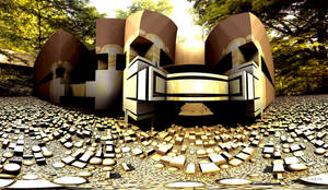 Spring House of Frank Lloyd Wright by marijeberting