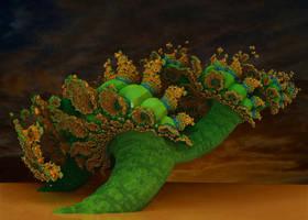 The Royal Poinciana or Flamboyant Tree by marijeberting