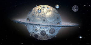 Planetary Ring by marijeberting