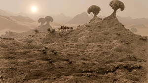 Desert Dunes by marijeberting