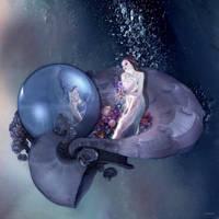 She found a treasure underwater by marijeberting