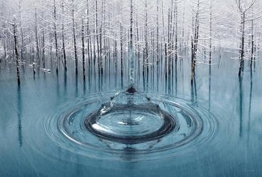 Frozen fountain by marijeberting