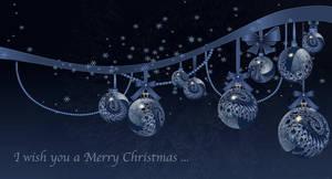Translucent Christmas Baubles by marijeberting