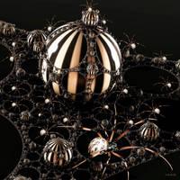 Spider nest by marijeberting