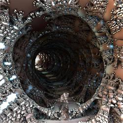 Self-reflection tunnel by marijeberting