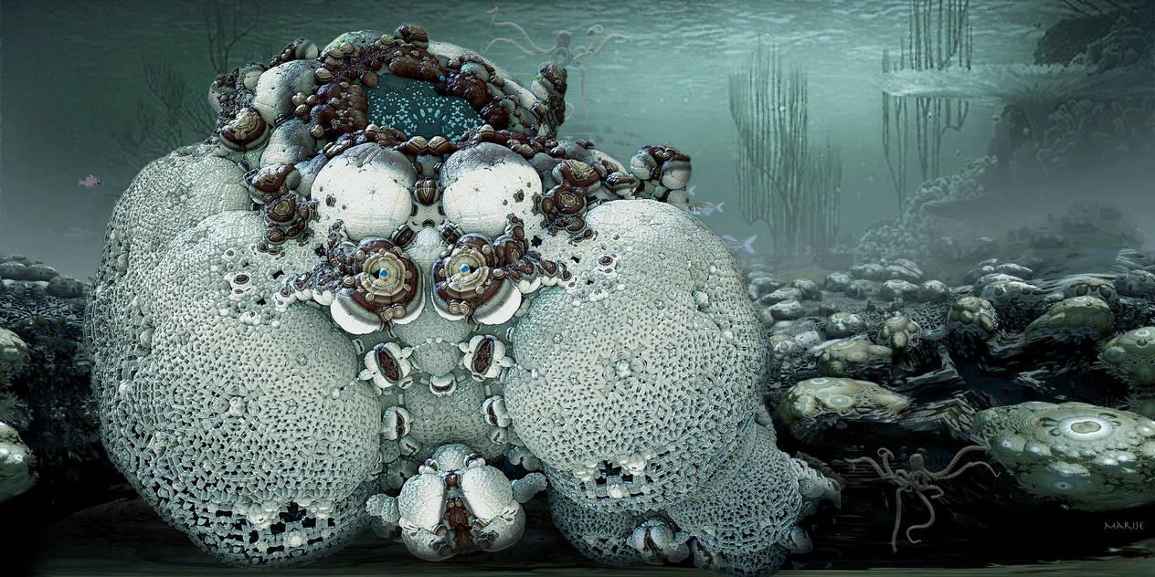 Deep Sea Creature by marijeberting