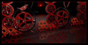 Motorcycle Workplace Monet-Goyon by marijeberting