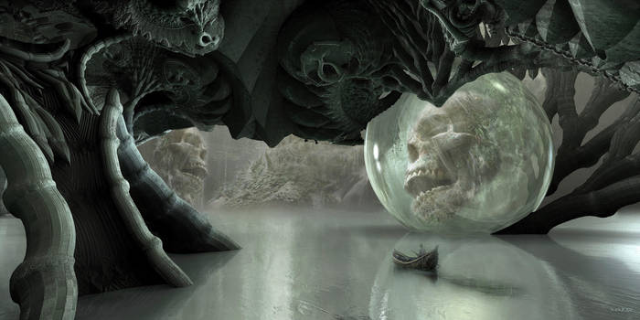 Skull Cave by marijeberting