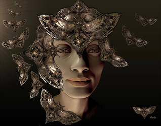 Madame Butterfly by marijeberting