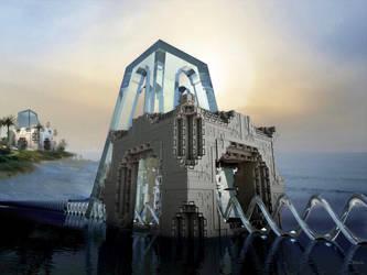 Sea water desalination plant by marijeberting