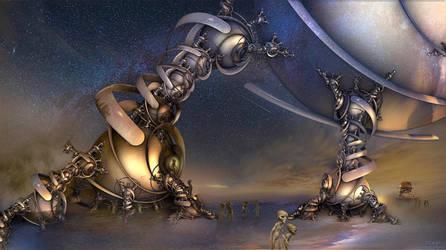 Extraterrestrial Life by marijeberting