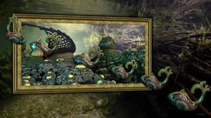 Sunken Painting by marijeberting