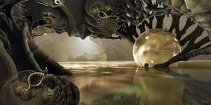 Swamp Cave by marijeberting